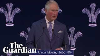 Gambar cover Davos: Prince Charles launches Sustainable Market Council at 50th World Economic Forum - watch live