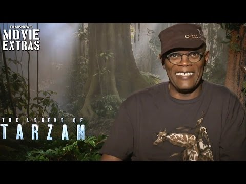 Samuel L. Jackson 'George Washington Williams' talks about The Legend of Tarzan (2016)