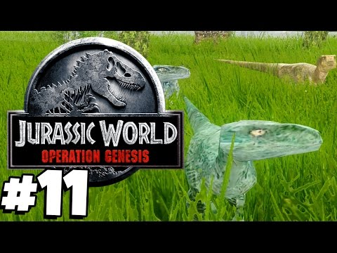 Jurassic Park: Operation Genesis   CHARLIE, DELTA, ECHO, BLUE! (Playthrough Part 11)