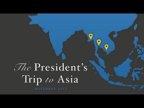 President Obama's Trip to Asia - November 2012