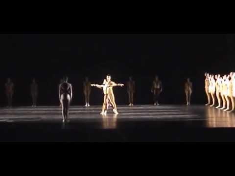 Full-length Artifact Part II: Ballet Frankfurt. Choreography, William Forsythe