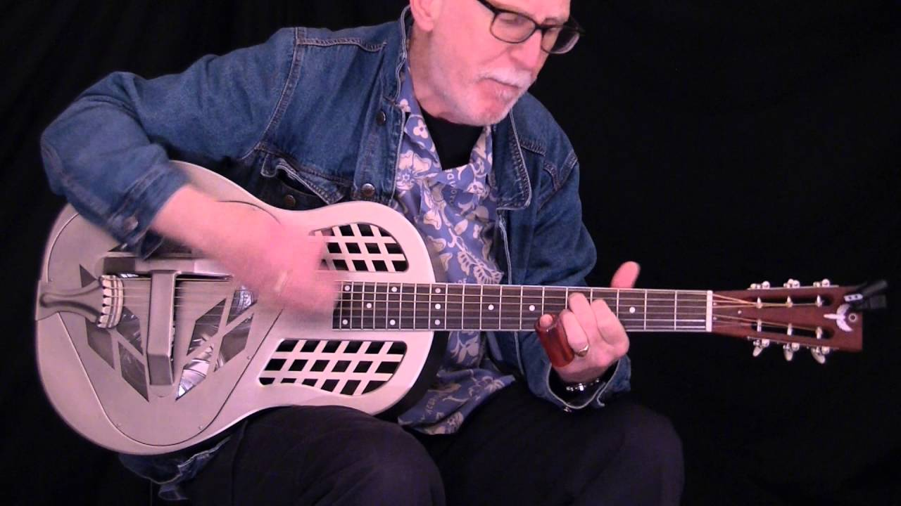 Icarus Custom TriCone Resonator Guitar Played By Pete Harris