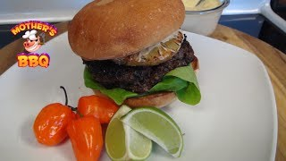 Jamaican Jerk Burger Recipe On The Mojo Griddle