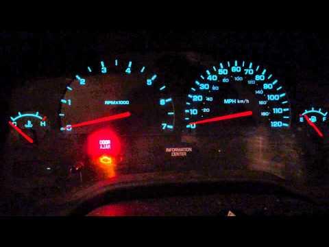 2003 Dodge Durango Gauges quit working. gauge sweep video.