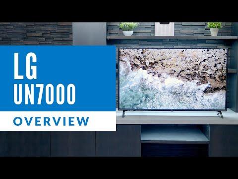 LG UN7000 Series 4k Television Overview - 55UN7000