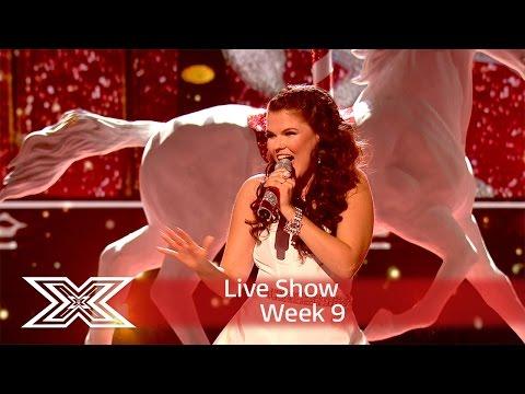 Saara gets into the Christmas spirit with Mariah Carey cover | Semi-Final | The X Factor UK 2016