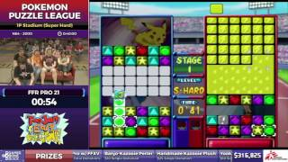 Pokemon Puzzle League by FFR Pro 21 in 32:29 - SGDQ2017 - Part 47