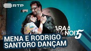 Rodrigo Santoro e Filomena Cautela dançam agarradinhos | 5 Para a Meia-Noite | RTP