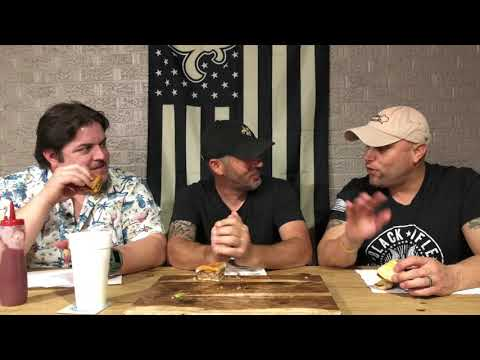 Cajun Trinity Food Reviews Ep004 – Burger Challenge 1 with Mooyah, Ground Pat'i, and Walk-on's
