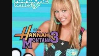 Hannah Montana- Just A Girl (Karaoke/Instrumental) OFFICIAL