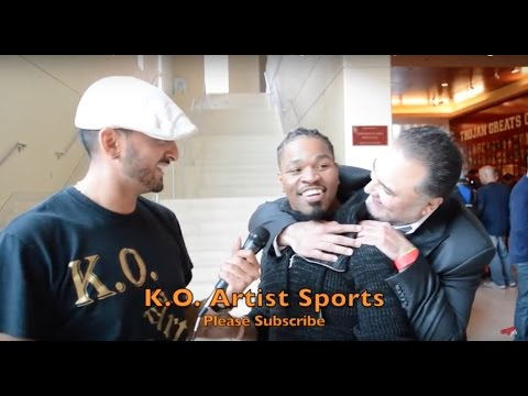 Richard Schaefer surprises Shawn Porter mid interview (again) lol! Wants to promote him!