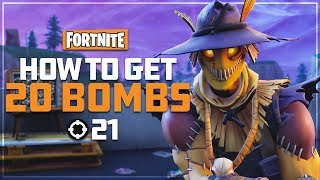 How To Get 20 Bombs! - Fortnite Battle Royale - Drnkie
