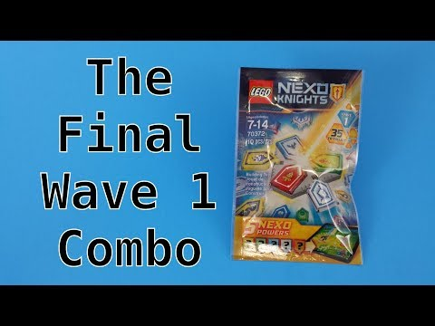 The Final Lego Nexo Knights Wave 1 Combo Powers Blind Bag Opening