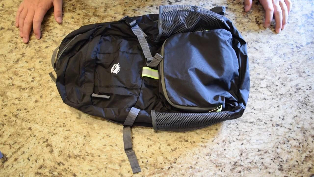 OlarHike Lightweight Travel Backpack 35L Water Resistant Packable Backpack Men