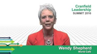 Wendy Shepherd: Leadership World Cafe