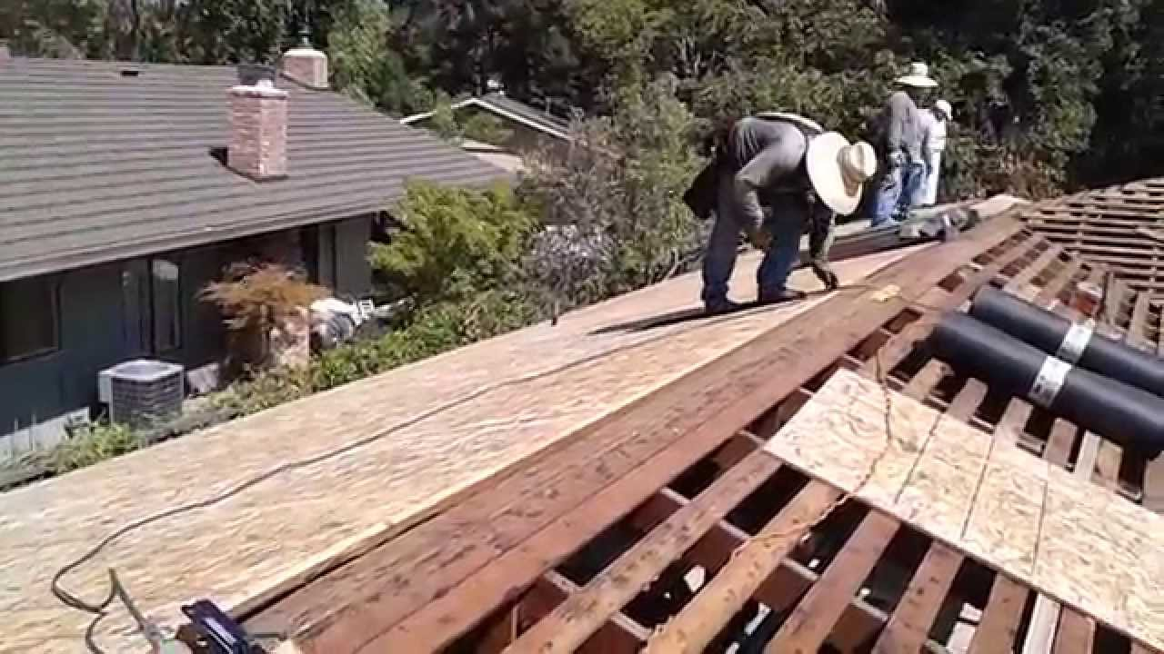 Radiant Barrier Plywood Decking Project Certified