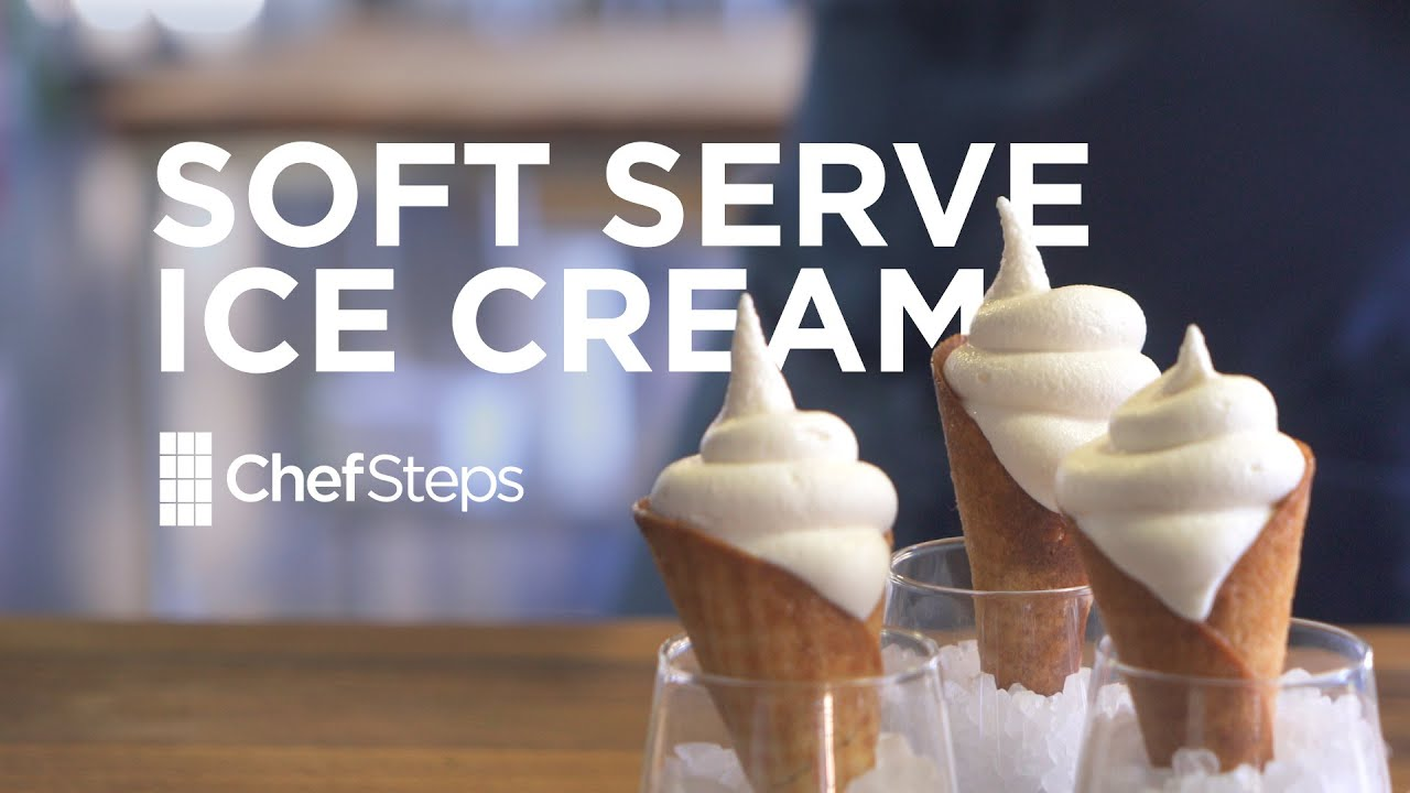 Chefsteps soft serve ice cream youtube chefsteps soft serve ice cream ccuart