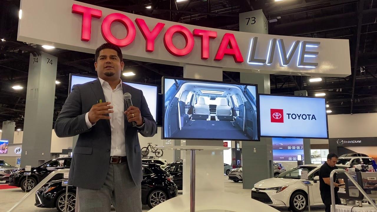 Miami Auto Show 2020.Miami Autoshow 2019 2020 Toyota Highlander Presentation