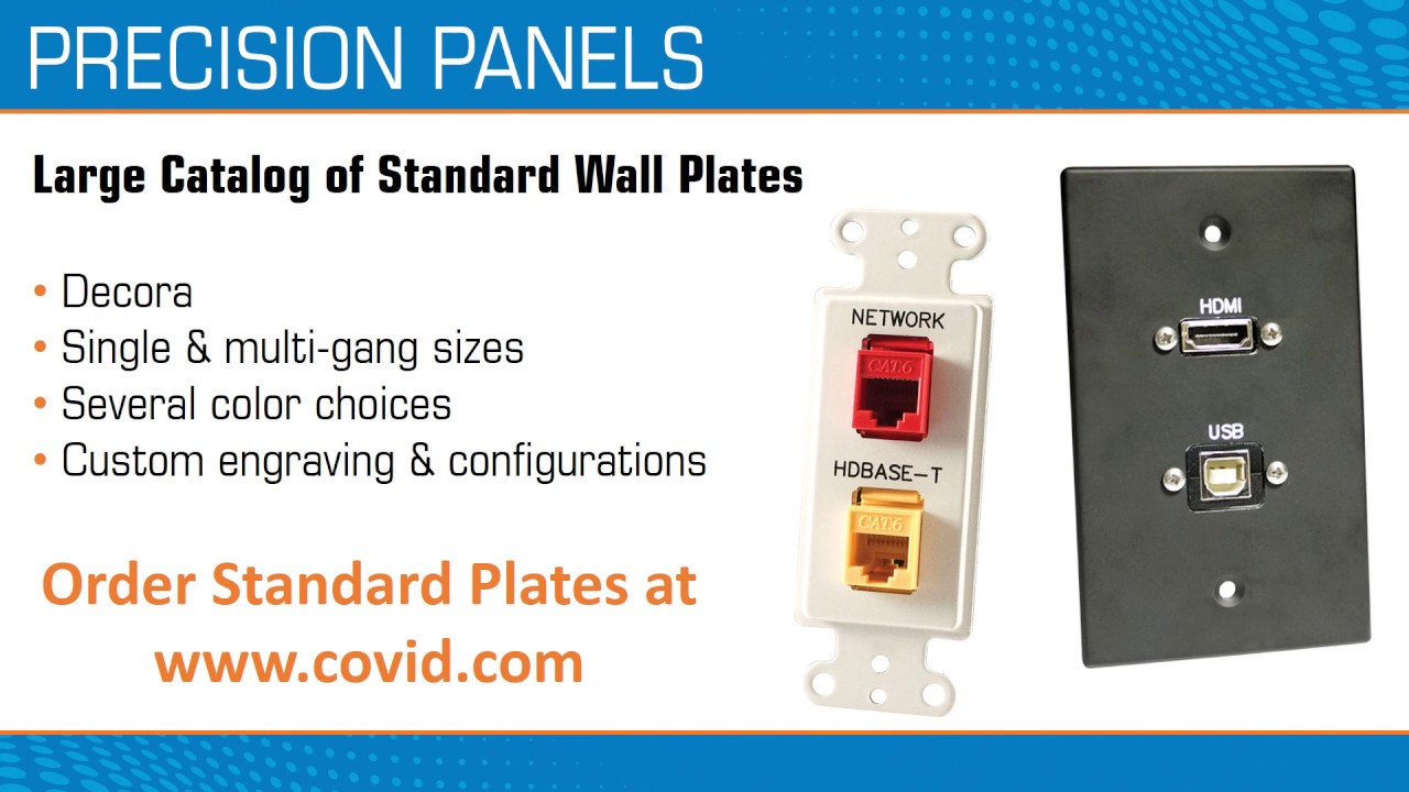 Covid Wall Plates and Rack Panels