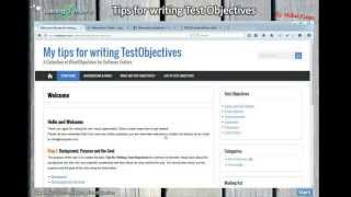 Tips for writing Software Testing Objectives - Email Addresses