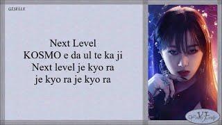 Download aespa (에스파) - Next Level (Easy Lyrics)