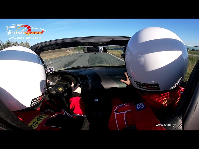Coaching session with our Honda S2000, Serres Circuit , Track-speed.com