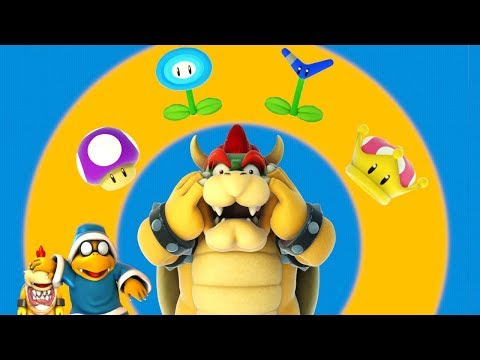 Bowser Plays with Powerups