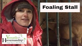 Time For A Foaling Stall! // Versatile Horsemanship
