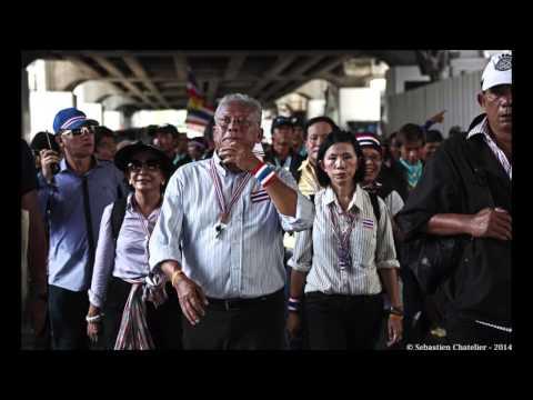 Bangkok (Thailande) 12-05-2014  Suthep Thaugsuban au Parlement