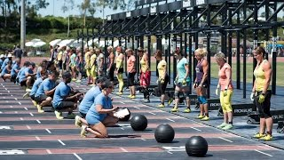 CrossFit Games Masters Live Stream: Medball Burpee