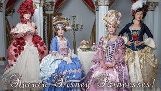 Rococo Disney Princesses!