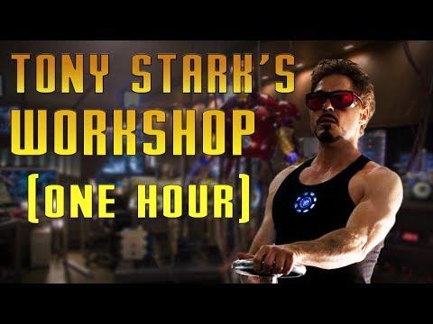 Tony Stark's Workshop   Iron Man Music (One Hour)