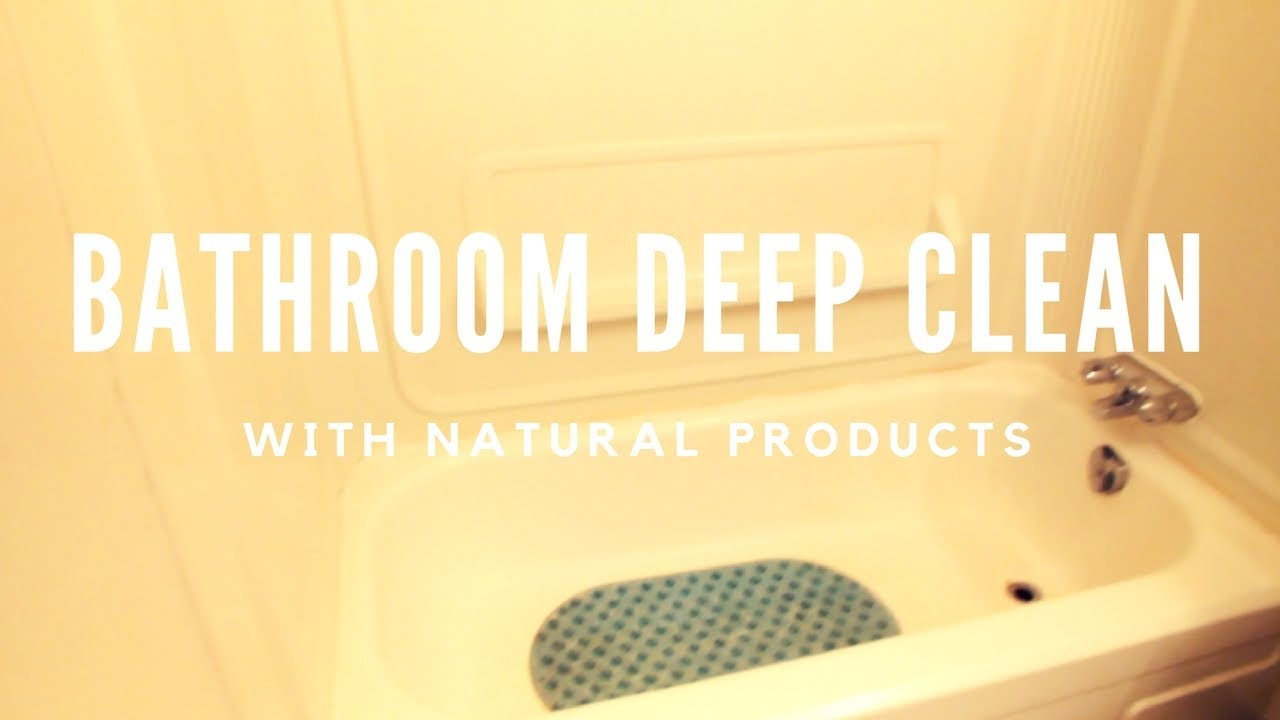 Natural Cleaning Products Bathroom Deep Clean Karlynn Charette - Natural cleaning products for bathroom