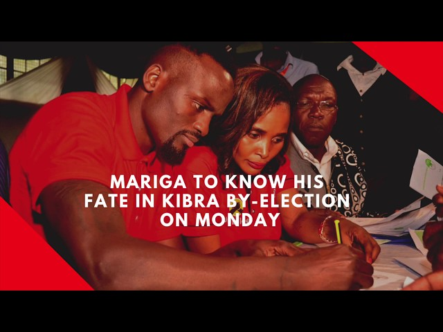 Mariga to know his fate in Kibra by-election on Monday