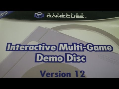 Nintendo GameCube Interactive Multi-Game Demo Disc Version 1