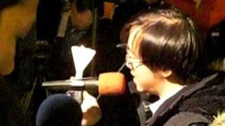 10年1月12日釋放劉曉波燭光晚會--誰的憲章
