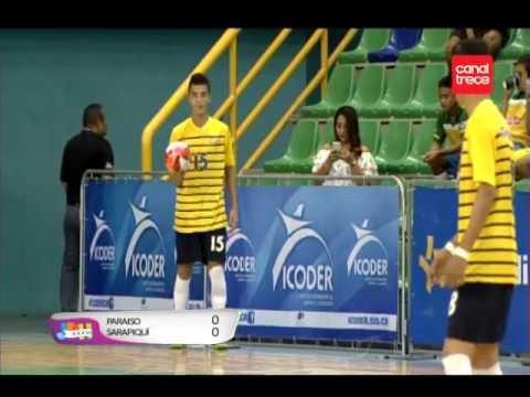 Final Fútbol sala masculino: Sarapiquí- Paraíso  8-7-2017