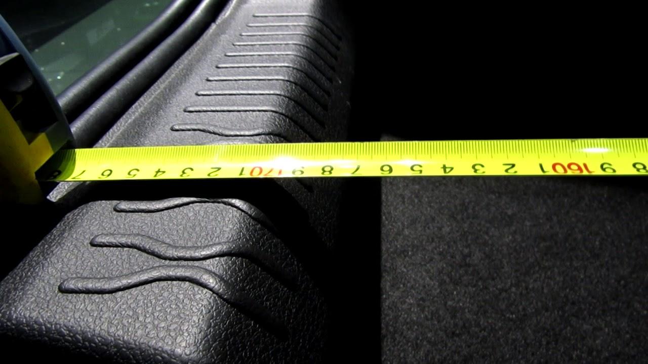 Веста Кросс замеры багажника 1,6 механика люкс