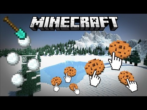 Cookie Clicker Minecraft - Snow Shoveler