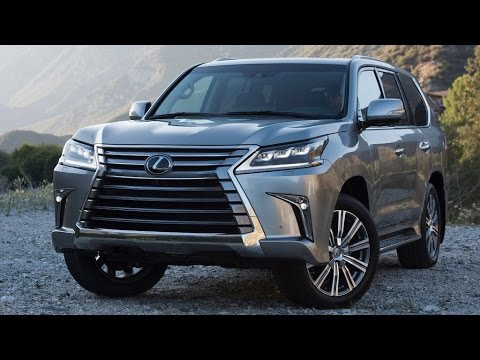 2016 Lexus Lx 570 Review Rendered Price Specs Release Date