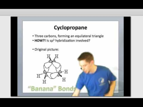 IE Organic Lecture 10.2 - Degrees of Unsat. & Cyclopropane