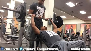How To Warmup Correctly Before Lifting Weights @hodgetwins