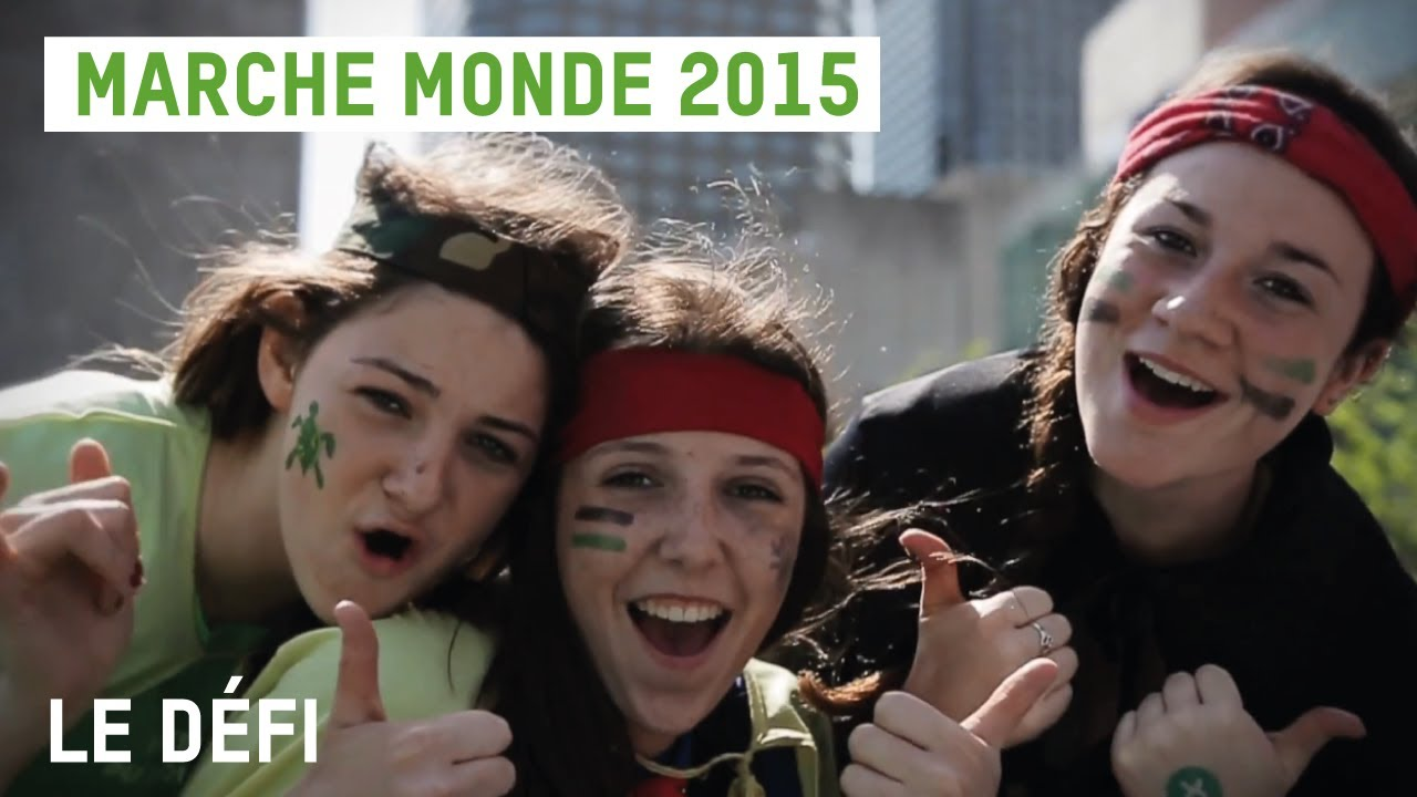 Marche Monde - Le défi!