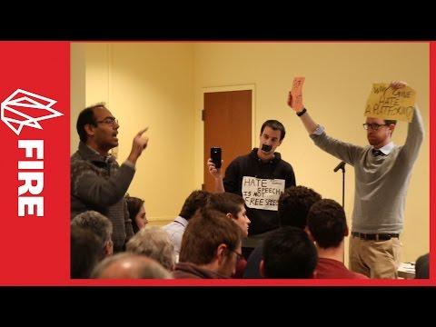 Protesters disrupt Charles Murray at Villanova University