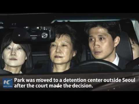 S. Korea's ex-president Park arrested over corruption allegations