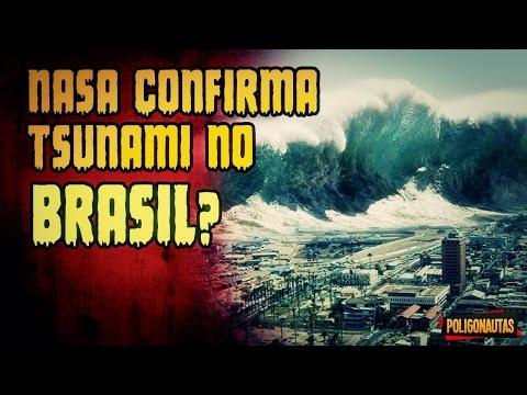 NASA Confirmou Grande Tsunami no Brasil?   Lendas Sinistras