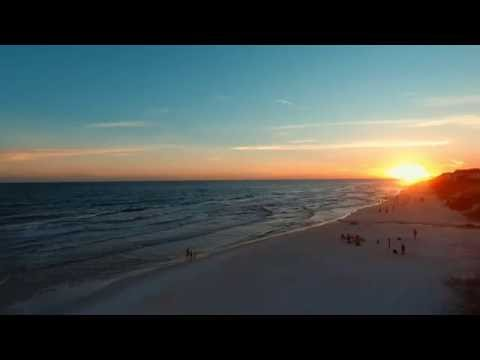 Day 38a: Drone Footage of the Sunset