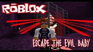 DAS IST NICHT MEIN BABY!!!! -|- Roblox Escape The Evil Baby Obby