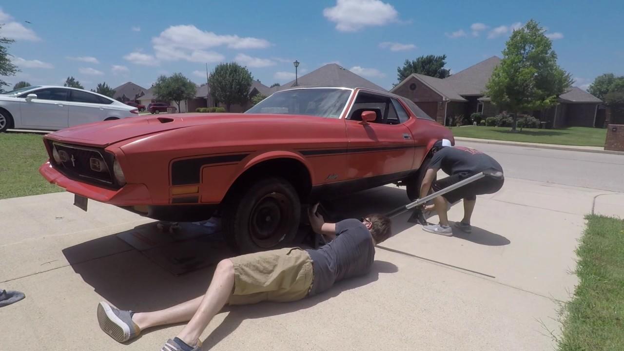 1971 mustang 302 restoration pt 1