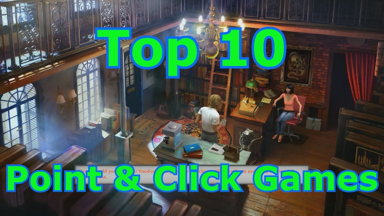 top point and click pc games